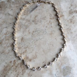 Special Occasion diamond gemstone gold necklace